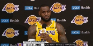 LeBron James on the Lakers: 'Long way to go' to catch the Warriors