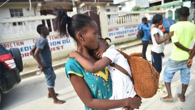 In pictures: Haiti earthquake aftermath in Port-de-Paix